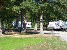 campsites at Jordan Dam RV Park